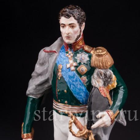 Коллекционная фарфоровая статуэтка Русский генерал П.И. Багратион, Россия, совр.